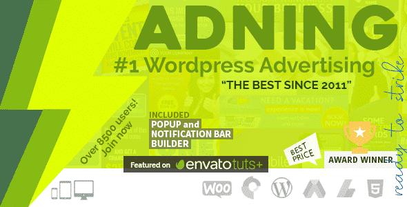 Adning Advertising Adsense WordPress Plugin