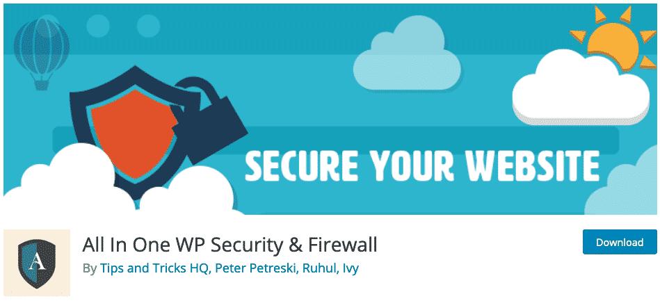 All-In-One-WP-Security-Firewall-Wordpress-Plugin