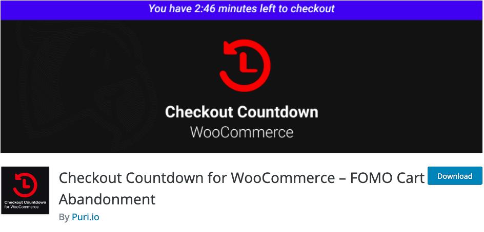 Checkout-Countdown-Wordpress-Plugin