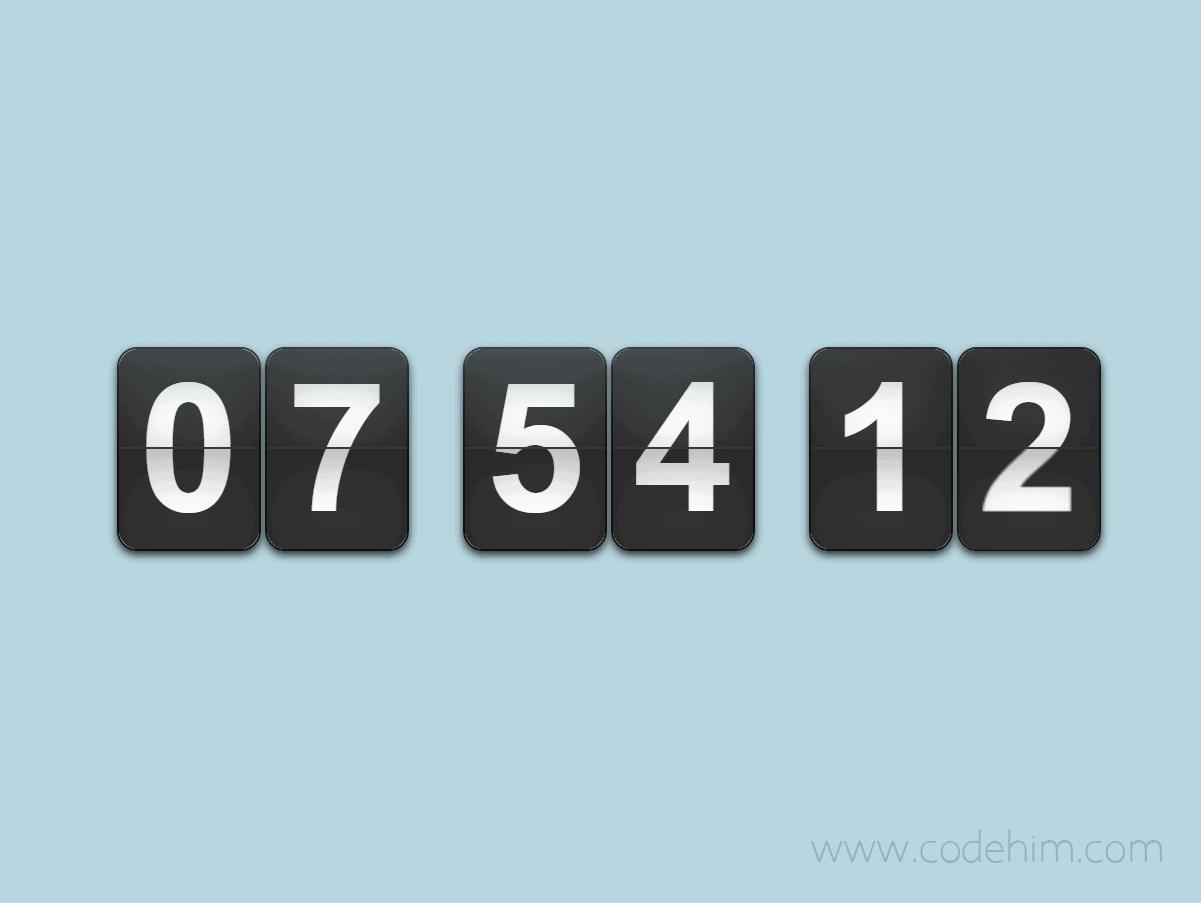 Flip-Timer-jQuery-Countdown-Plugin