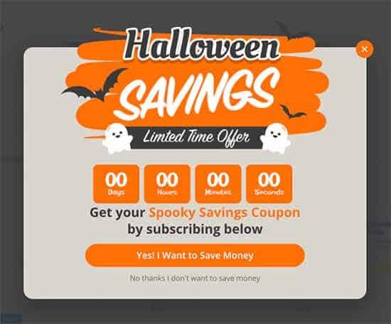 Halloween-Countdown-Plugin