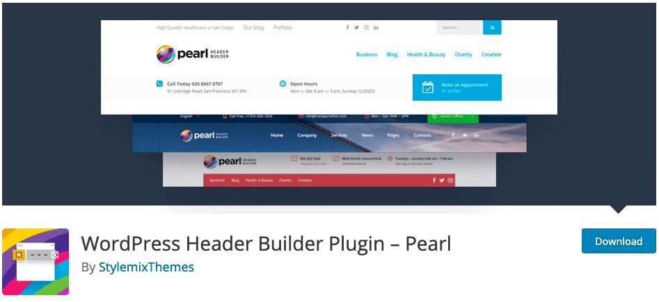 Pearl-WordPress-Header-Builder-Plugin