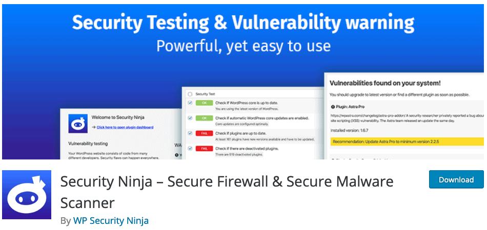 WP-Security-Ninja-Wordpress-Plugin
