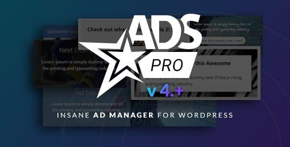 Ads Pro Plugin By Codecanyon
