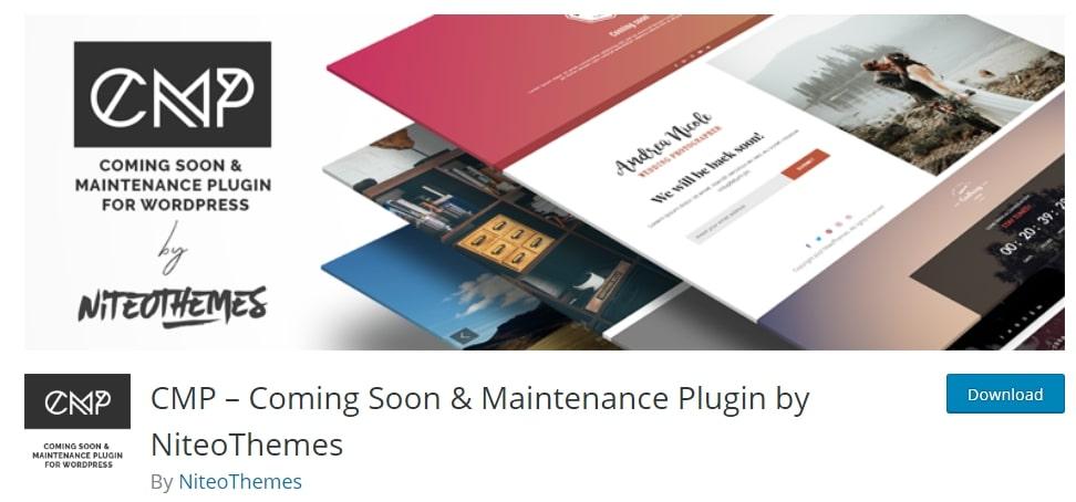 CMP — Coming Soon & Maintenance Plugin
