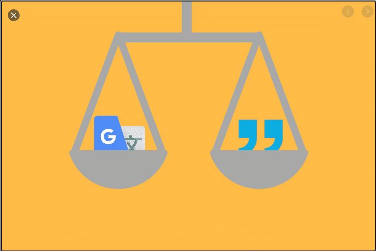 Google translate plugin