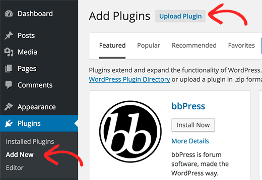 WordPress Admin Plugin