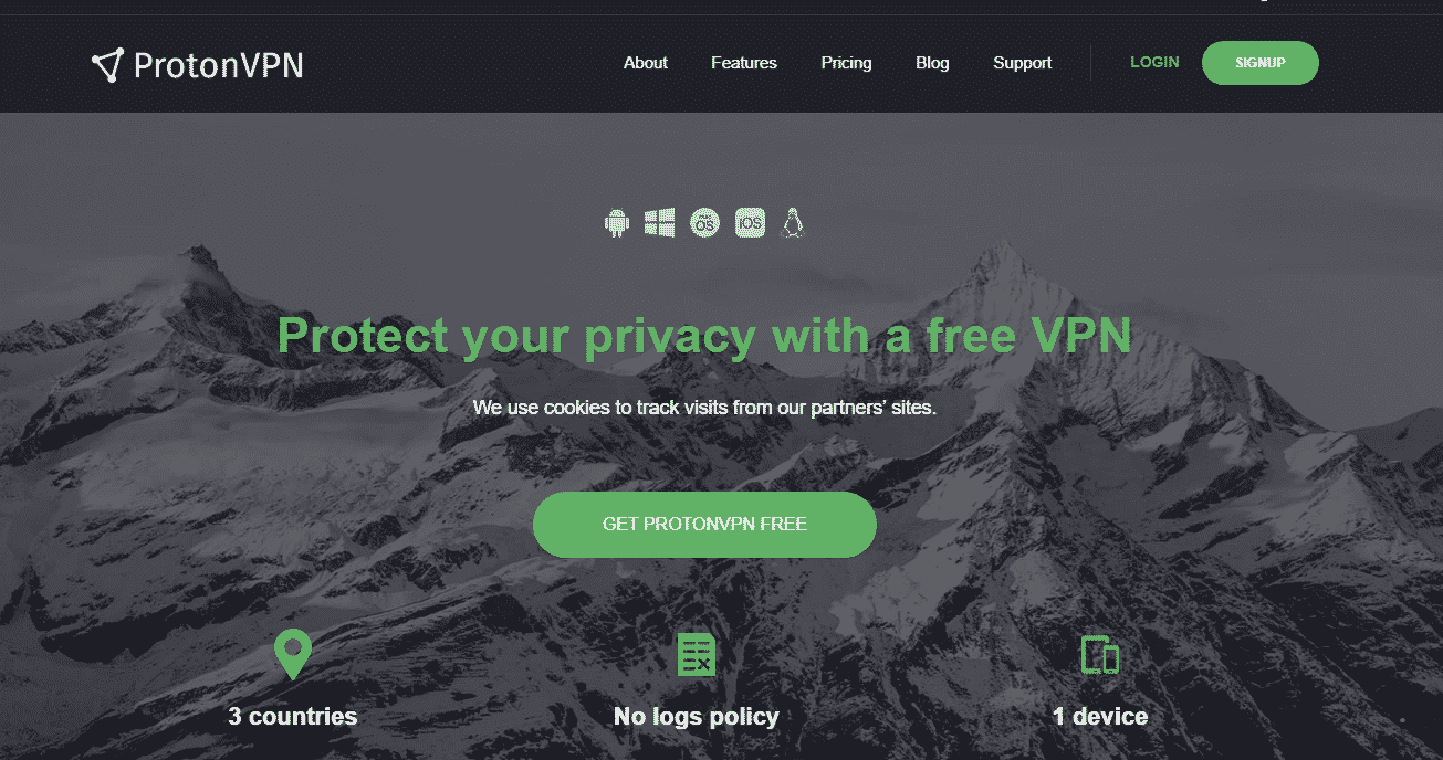 Free VPN for Android and IOS